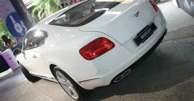 2012 Bentley Continental GT 4.0 V8 Coupe  第3張相片
