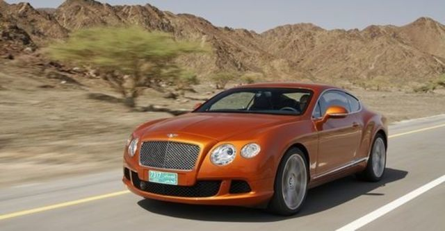 2012 Bentley Continental GT 6.0 W12 Coupe  第1張相片