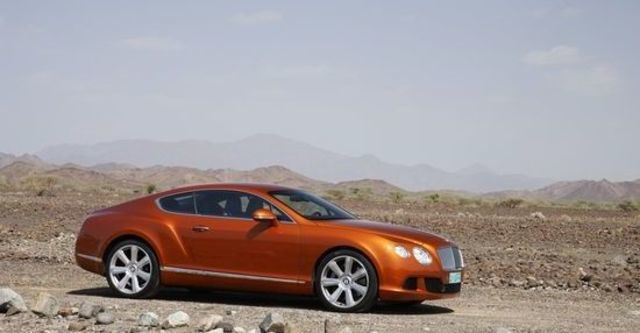 2012 Bentley Continental GT 6.0 W12 Coupe  第7張相片
