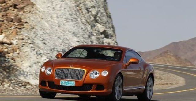 2012 Bentley Continental GT 6.0 W12 Coupe  第8張相片