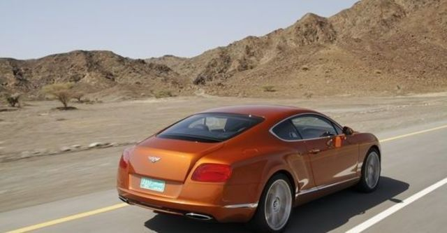 2012 Bentley Continental GT 6.0 W12 Coupe  第9張相片