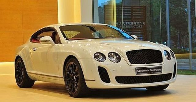 2012 Bentley Continental Supersports 6.0 W12 Coupe  第1張相片