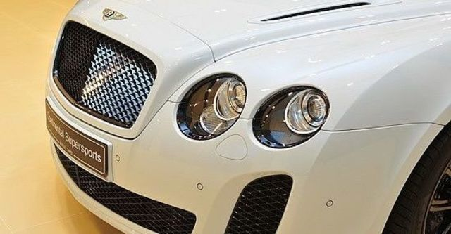 2011 Bentley Continental Supersports 6.0 W12 Coupe  第8張相片