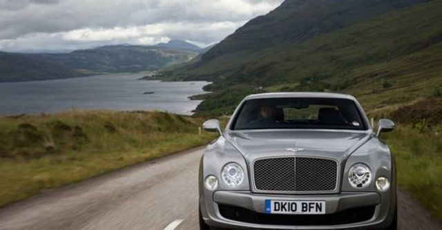 2011 Bentley Mulsanne 6.75 V8  第3張相片