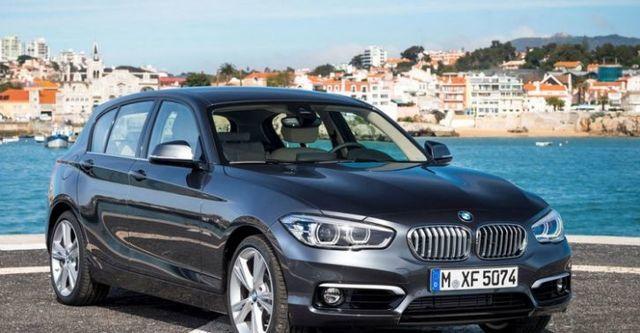 2015 BMW 1-Series(NEW) 118d  第5張相片