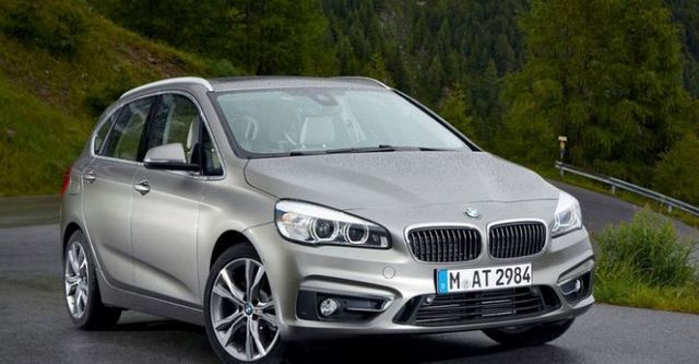 2015 BMW 2-Series Active Tourer 220i  第2張相片