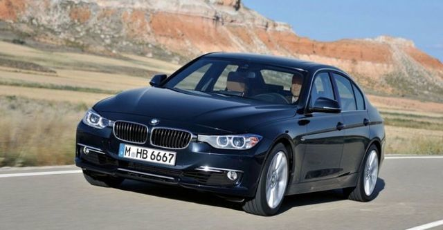 2015 BMW 3-Series Sedan 316i  第1張相片