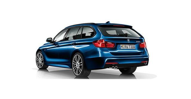2015 BMW 3-Series Touring 320i M Sport Package  第2張相片