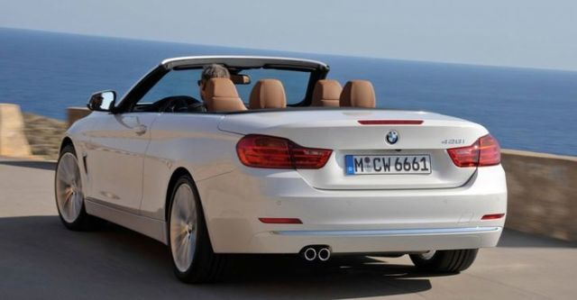2015 BMW 4-Series Convertible 420i Sport Line  第4張相片