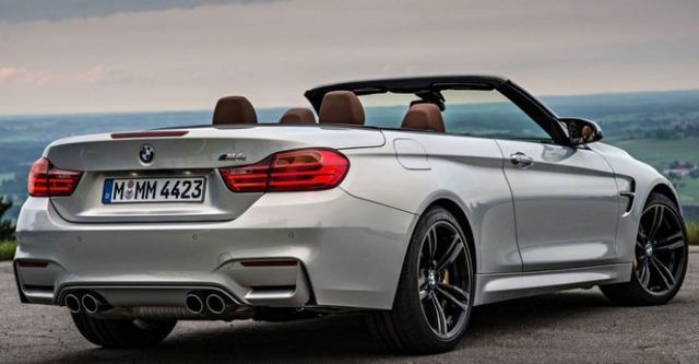 2015 BMW 4-Series Convertible M4  第4張相片