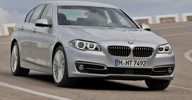 2015 BMW 5-Series Sedan 520i  第1張相片