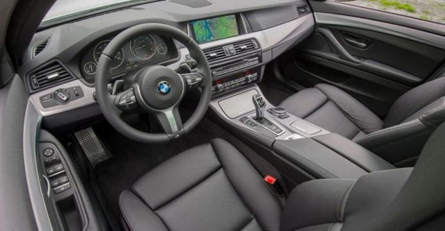2015 BMW 5-Series Sedan 535d M Sport Package  第6張相片