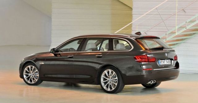 2015 BMW 5-Series Touring 520d  第5張相片