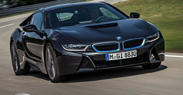 2015 BMW i8 Coupe  第1張相片