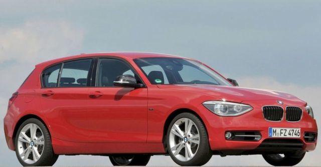 2014 BMW 1-Series 116i  第1張相片