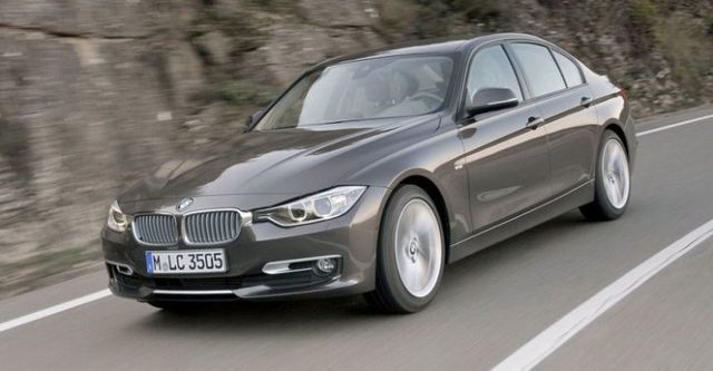 2014 BMW 3-Series Sedan 320d Luxury  第4張相片