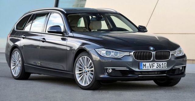 2014 BMW 3-Series Touring 318d Sport  第1張相片