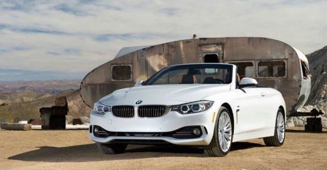 2014 BMW 4-Series Convertible 420i Sport Line  第1張相片