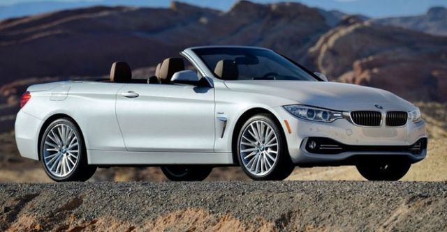 2014 BMW 4-Series Convertible 435i Sport Line  第1張相片