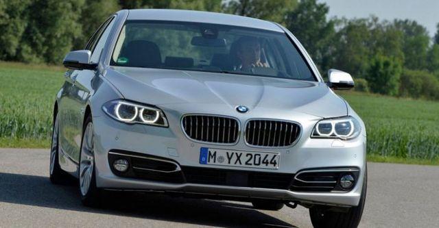2014 BMW 5-Series Sedan 520d  第1張相片