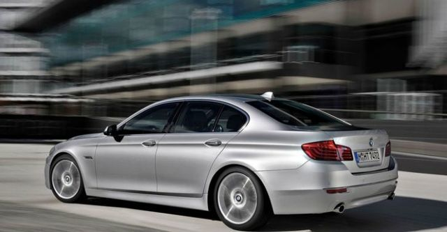 2014 BMW 5-Series Sedan 520d  第5張相片
