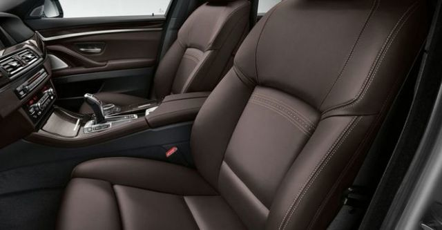 2014 BMW 5-Series Sedan 520d  第10張相片
