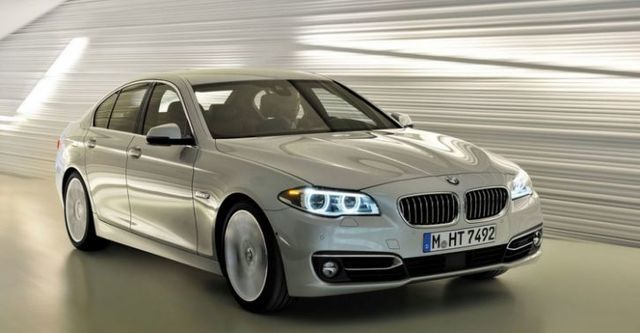 2014 BMW 5-Series Sedan 520i Modern Line  第1張相片