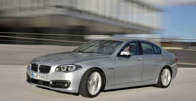2014 BMW 5-Series Sedan 530d Modern Line  第1張相片