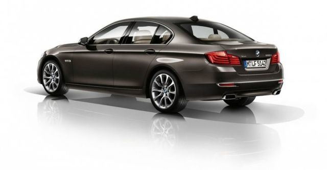 2014 BMW 5-Series Sedan 530d Modern Line  第3張相片