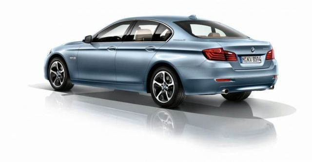 2014 BMW 5-Series Sedan ActiveHybrid 5 Modern Line  第4張相片