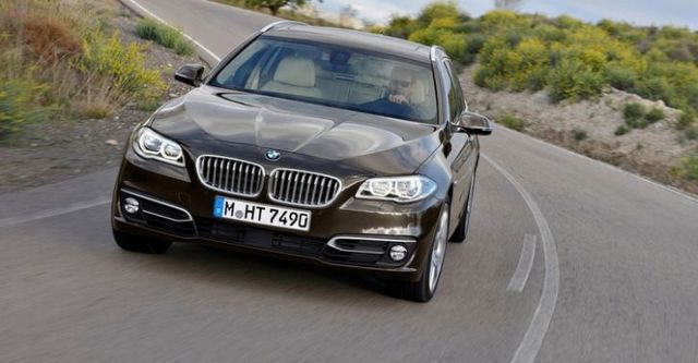 2014 BMW 5-Series Touring 520d  第1張相片