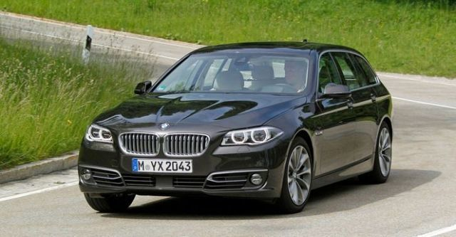 2014 BMW 5-Series Touring 520d  第2張相片