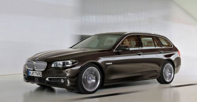 2014 BMW 5-Series Touring 520d  第3張相片