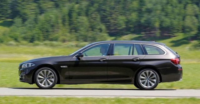 2014 BMW 5-Series Touring 520d  第4張相片