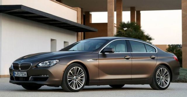 2014 BMW 6-Series Gran Coupe 640d  第1張相片