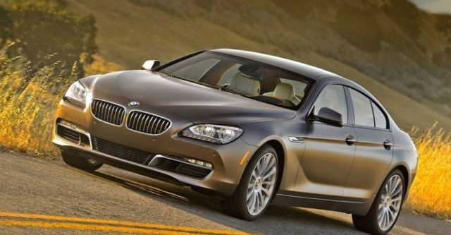 2014 BMW 6-Series Gran Coupe 640i  第1張相片
