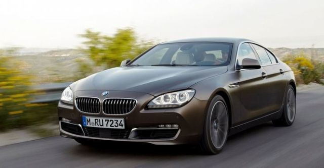 2014 BMW 6-Series Gran Coupe 650i  第1張相片