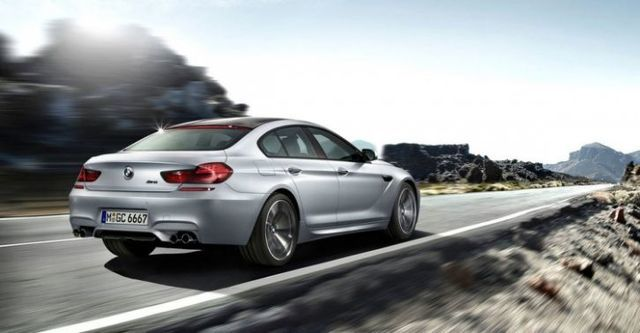 2014 BMW 6-Series Gran Coupe M6  第2張相片