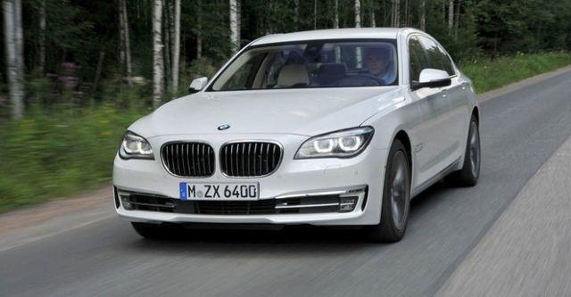 2014 BMW 7-Series 730d  第1張相片