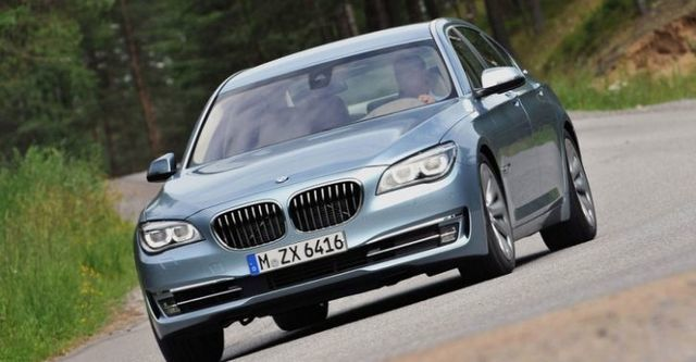 2014 BMW 7-Series ActiveHybrid 7  第2張相片