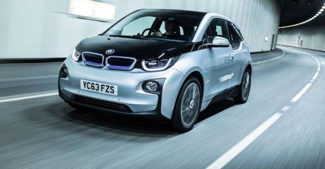 2014 BMW i3 REX增程式電動版  第3張相片