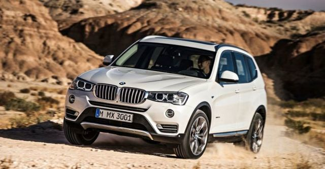 2014 BMW X3(NEW) xDrive20i領航版  第4張相片