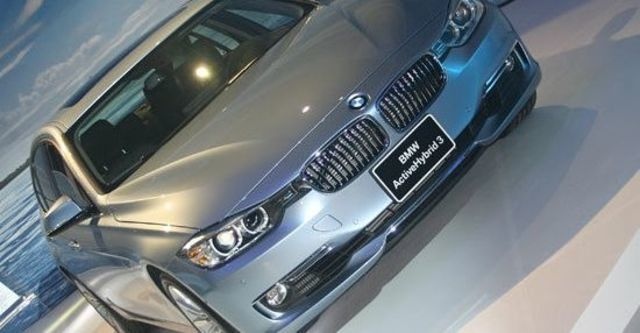 2013 BMW 3-Series Sedan ActiveHybrid 3 Luxury  第2張相片