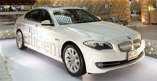 2013 BMW 5-Series Sedan ActiveHybrid 5  第2張相片