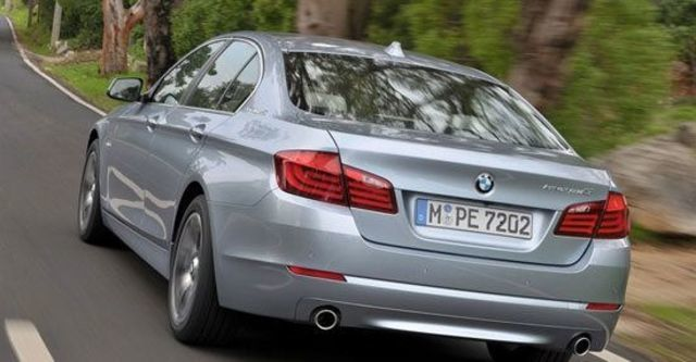 2013 BMW 5-Series Sedan ActiveHybrid 5  第6張相片