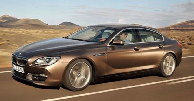 2013 BMW 6-Series Gran Coupe 640d  第1張相片