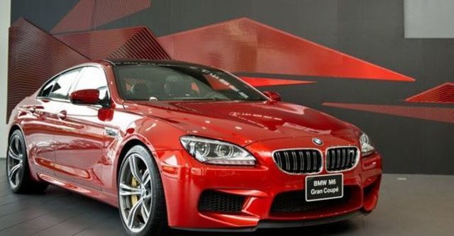 2013 BMW 6-Series Gran Coupe M6  第1張相片