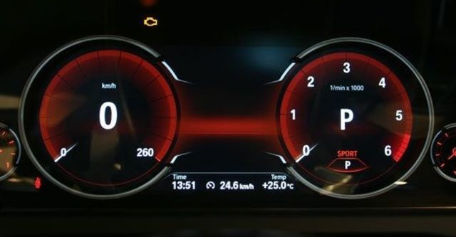 2013 BMW 7-Series 730d  第9張相片