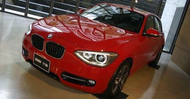 2012 BMW 1-Series 118i Sport Line  第2張相片