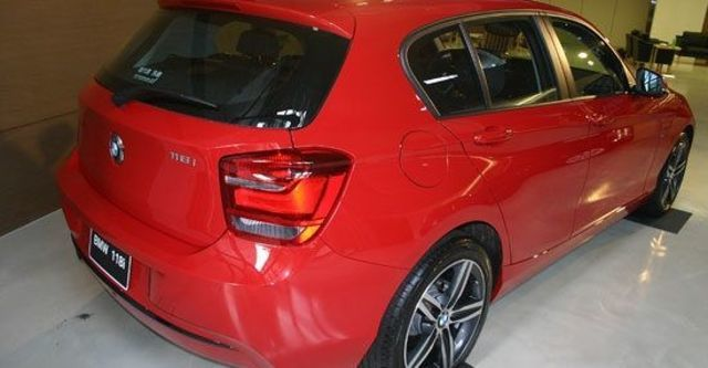 2012 BMW 1-Series 118i Sport Line  第3張相片
